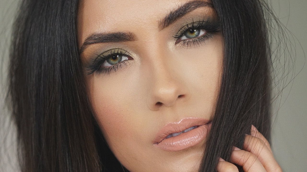 Olive Green Makeup Tutorial Melissa Alatorre Youtube