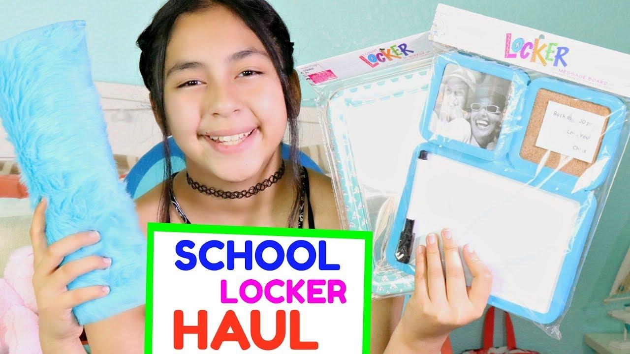 school locker shopping haul b2cutecupcakes youtube. Black Bedroom Furniture Sets. Home Design Ideas