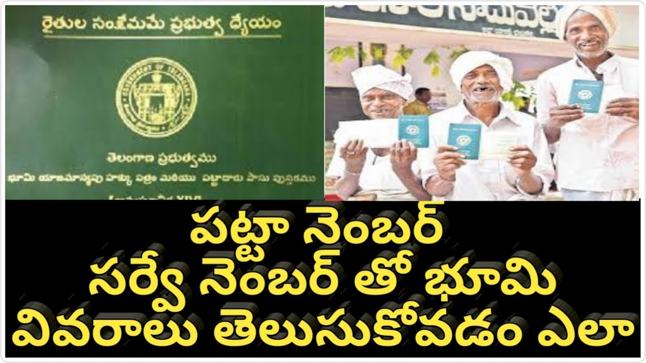 How to know our Land status in Govt Records | సర్వే