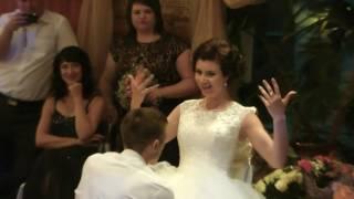 СНЯТИЕ ПОДВЯЗКИ: КАК ОНО БЫЛО -  Свадьба 23 июля Иван &  Полина