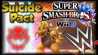 Super Smash Bros Wii U - WWE Suicide Pact! - Custom Stage & Mini-Game
