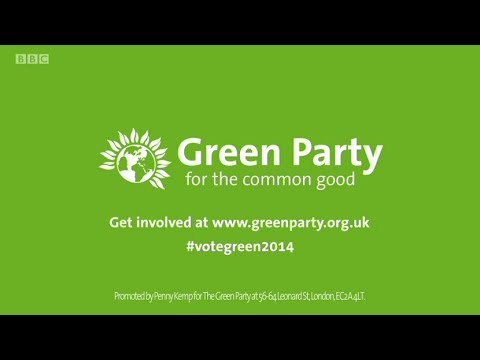 Green Party - Party Election Broadcasts for the European Parliament 2014