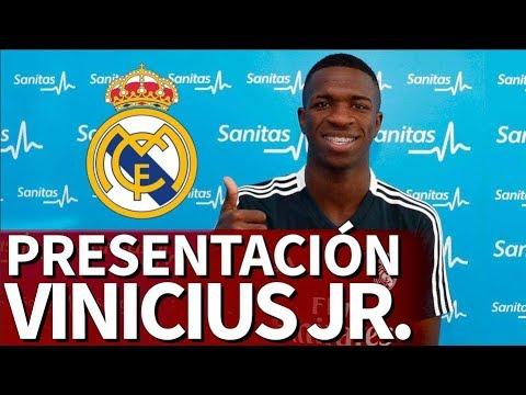 Presentación de Vinicius Jr con el Real Madrid | Diario AS