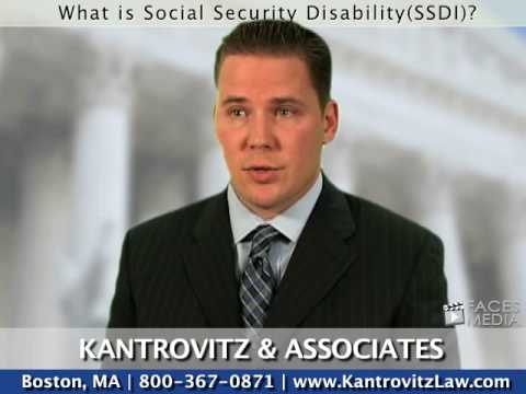 What Is Social Security Disability? (SSDI) - Boston Lawyer