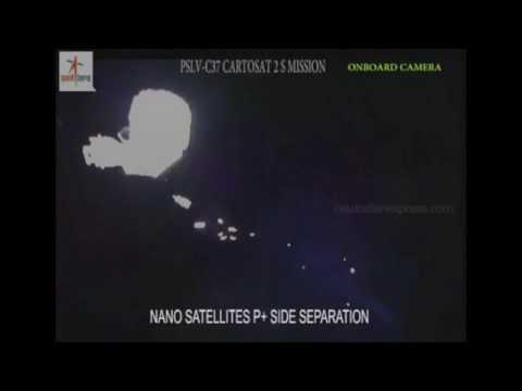 ISRO's world-record mission:  PSLV-C37 rocket with 104 satellites