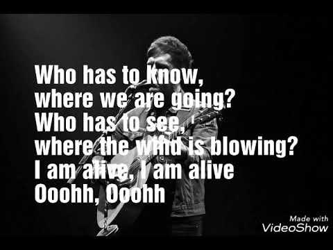 Stevie McCrorie_I Am Alive_Lyrics
