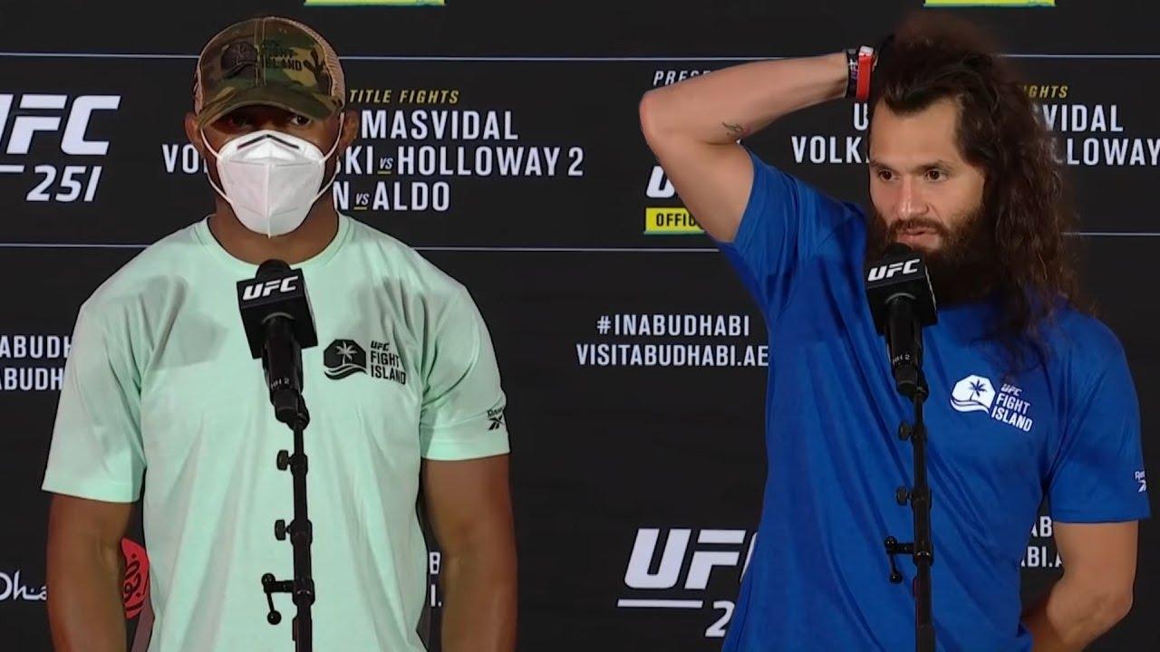 Интервью Усмана и Масвидаля перед UFC 251