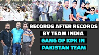 Records After Records For Team India, Gang of KPK in Pakistan Team