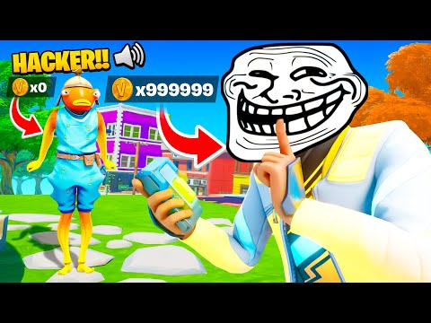 *TROLLING* In Our New Creative Map!