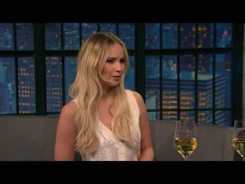 Jennifer Lawrence Seth Meyers New Year Special 2016 full Interview fragman