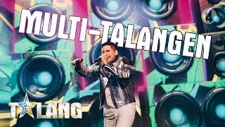 Rezdar Bakri bjuder på en mix av dans och rap i Talang 2019 - Talang (TV4)
