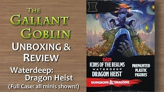 Waterdeep: Dragon Heist - D&d Miniatures Icons Of The Realms