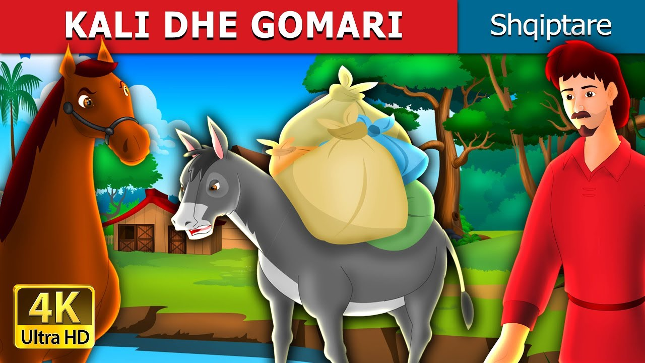 Download KALI DHE GOMARI | Perralla per femije | Perralla Shqip