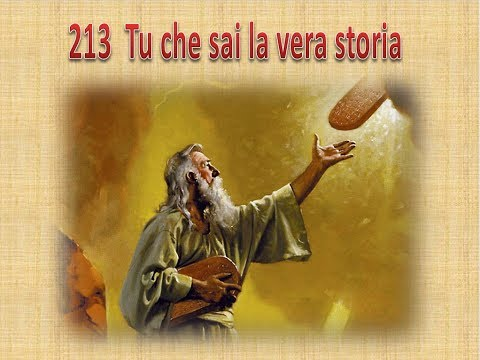 213  TU CHE SAI LA VERA STORIA  - KARAOKE