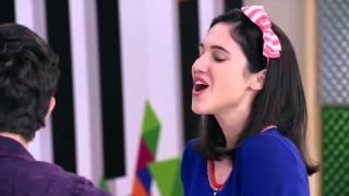 """Виолетта 3 - Диего, Фран и Вилу исполняют """"Ser quien soy"""" - эпизод 44"""