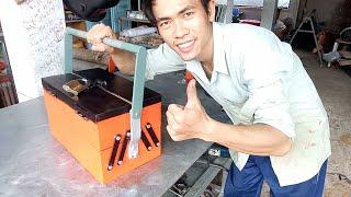 Hướng dẫn làm hộp đồ nghề tuyệt đẹp.Homemade toolbox