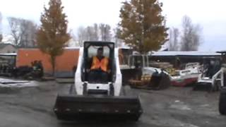 Sold! 2006 Bobcat T300 Tracked Skid Steer Loader Digging Bucket bidadoo.com