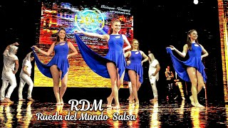 All Stars Festival dance performance by RDM - Rueda del Mundo Salsa at Duna Palota (Danube Palace)