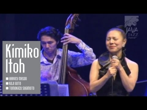 "Kimiko Itoh ""You've Got A Friend"" live at Java Jazz Festival 2007"