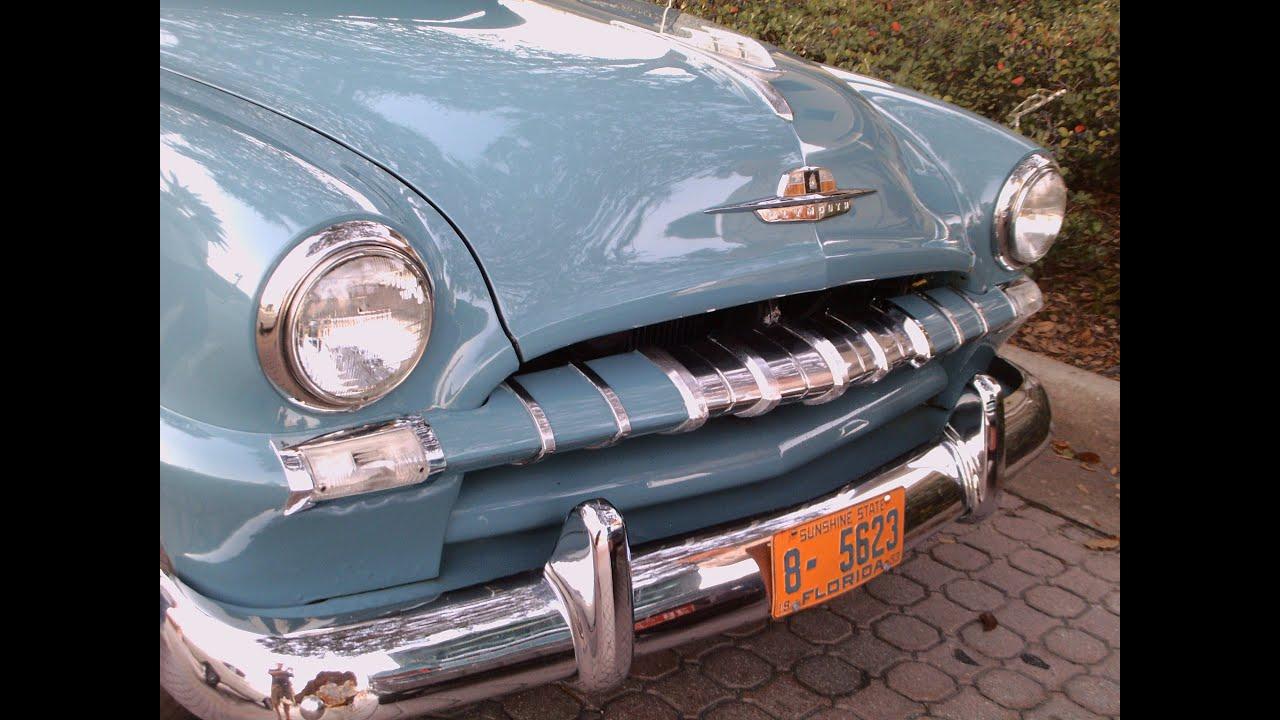 1953 Plymouth Cambridge Suburban Stationwagon Blu Newsmyr120812 1950 To 1955 Cars