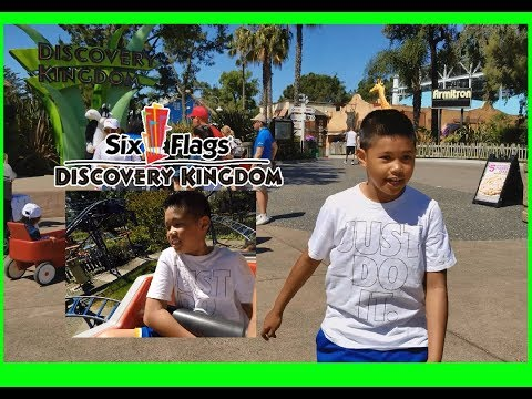 ADVENTURE AT SIX FLAGS DISCOVERY KINGDOM