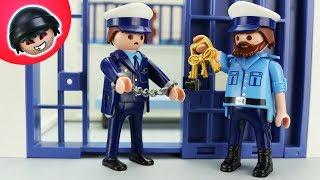 Toni wird verhaftet!    Playmobil Polizei Film   KARLCHEN KNACK #251