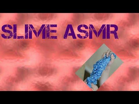 FIRST TIME DOING SLIME ASMR | Angela Belfa