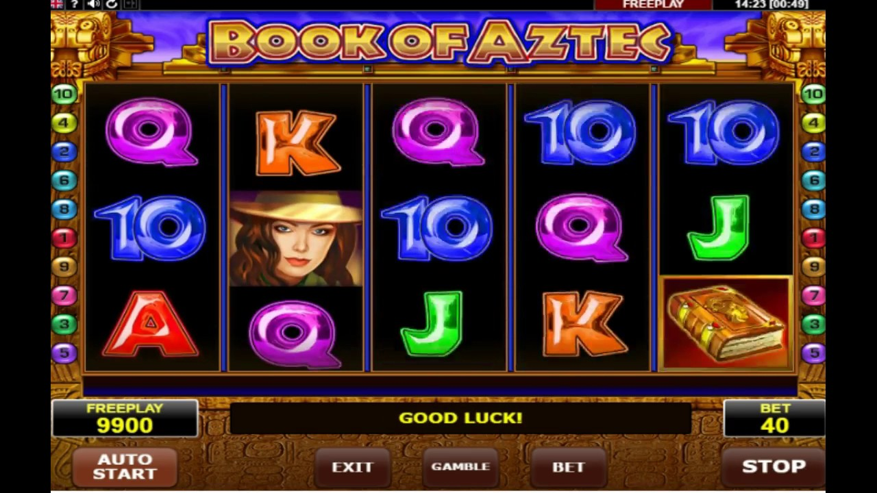 Book of aztec slot amerikaans roulette