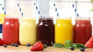5 Healthy 2-Ingredient Fruit Slushies!