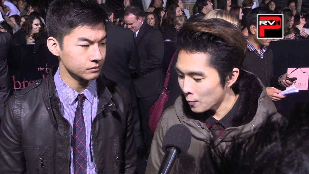 Justin Chon & KevJumba interview at Twilight Breaking Dawn ...