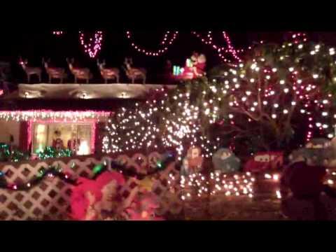 Christmas Lights in Norwalk, Ct. - YouTube