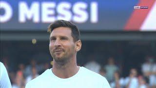 🔴🔵 PSG  🏟️ Lionel Messi présenté devant un Parc des Princes bouillant !