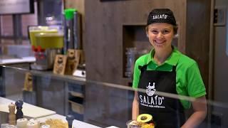 Potsdamer Platz Arkaden Berlin, gesunde Salatbar SALAID ist die neue, gesunde Art zu essen!