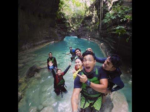 Biyahe ni Drew: Canyoneering in Badian, Cebu