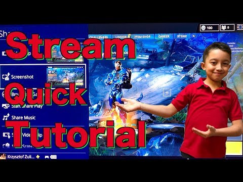 How to livestream ps4 gameplay to youtube . ps4 stream , how to stream on ps4 , PS4 Stream Tutorial