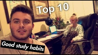 Top 10's STUDYING EDITION
