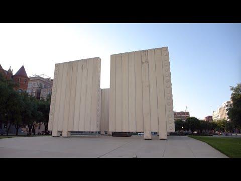 Dallas, Texas - John F. Kennedy Memorial Plaza HD (2016)