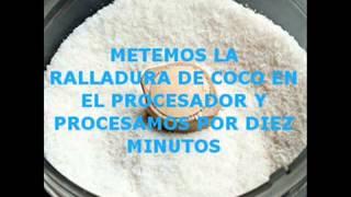 MANTECA DE COCO CASERA