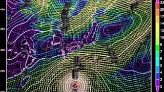 台風20号進路予想1101~1107