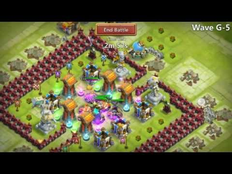 HBM G Lvl 17 Castle Clash Town Hall Base