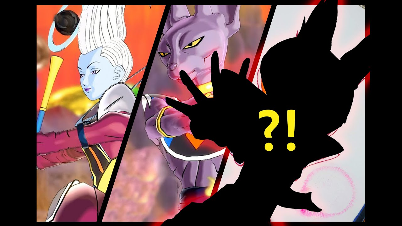 Drawing Beerus And Whis Fusion God Of Destruction Dragon Ball
