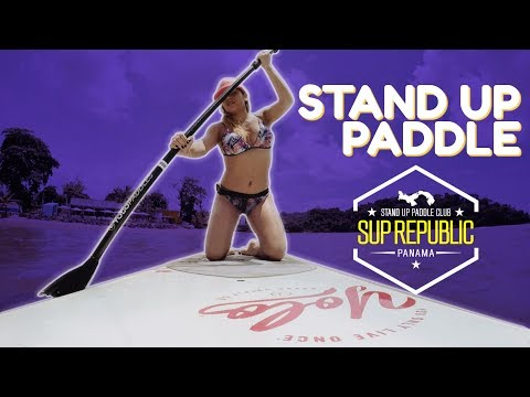 ¿Qué tan DIFÍCIL es hacer STAND UP PADDLE? #SUPREPUBLIC #Turismo #Travel #Panama
