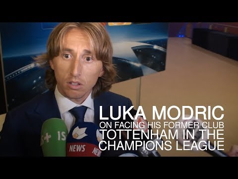 "Luka Modric Interview - ""Happy"" To Draw Tottenham In The Champions League"