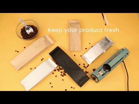 How to Package Coffee with Coffee Bags by ClearBags