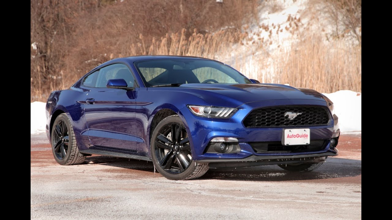 2015 Ford Mustang EcoBoost Review   YouTube 2015 Ford Mustang EcoBoost Review
