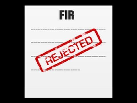 FIR : First Information Report - Section 154 CrPC