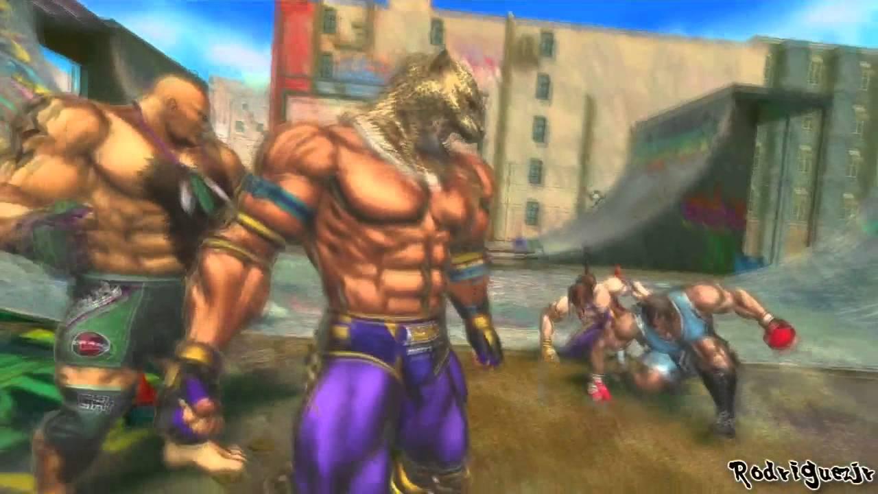 Street Fighter X Tekken Arcade Mode King Amp Marduk Pt 1 2