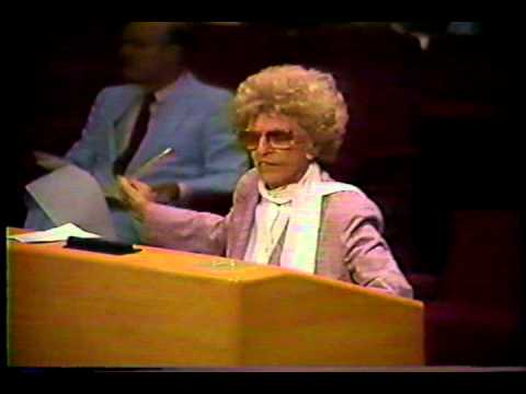 Miami Dade County Commission Meeting - 1987 - Very Funny!