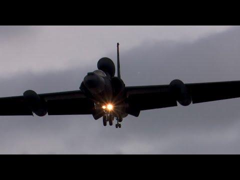 Lockheed U-2 Dragon Lady recovery with talk down - RAF Fairford July 2020
