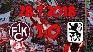 1. FC Kaiserslautern 1:0 TSV 1860 München - 28.7.2018 - Saisonauftakt geglückt!